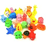 XKX Mini Rubber Baby Bath Toy(26-Pack)