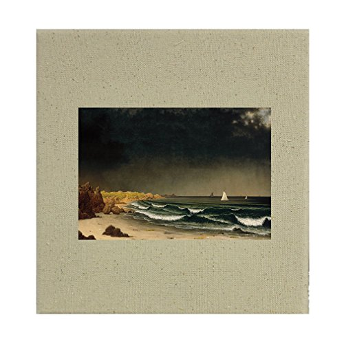 Style in Print Approaching Storm (Mj Heade) Cotton Canvas Stretched Natural Canvas - 12