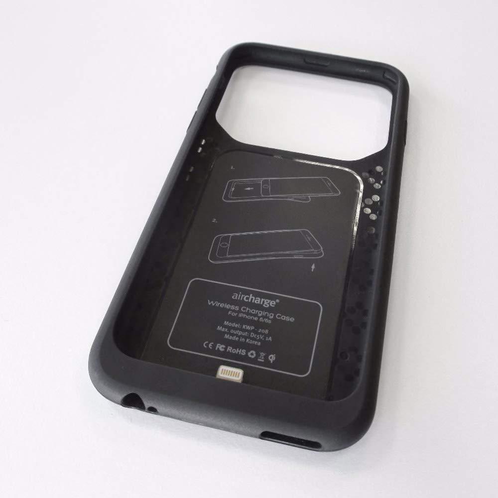 Amazon.com: aircharge carga inalámbrica carcasa para Apple ...