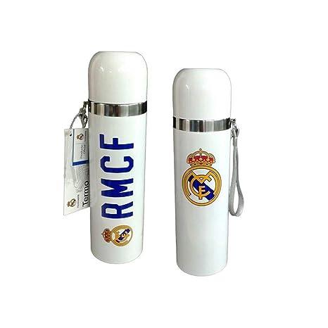 Termo Real Madrid Blanco: Amazon.es: Hogar