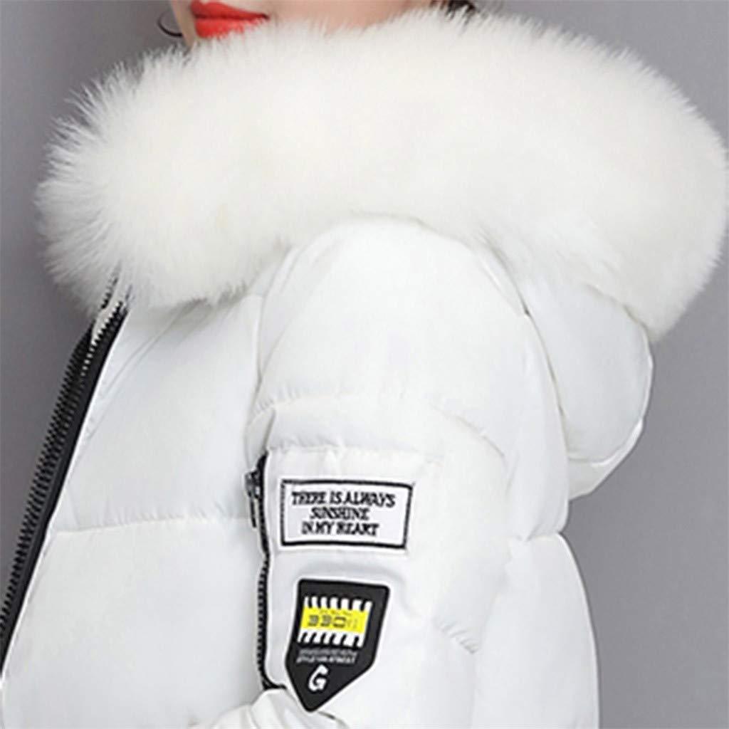 ZODOF eider chaqueta mujer Con Capucha Abrigo Plumas Largo Ultralight Plumon Chaqueta Plumifero Ligero Abrigos Largos Se/ñora Chaquetas Invierno Cazadoras Chaquetones