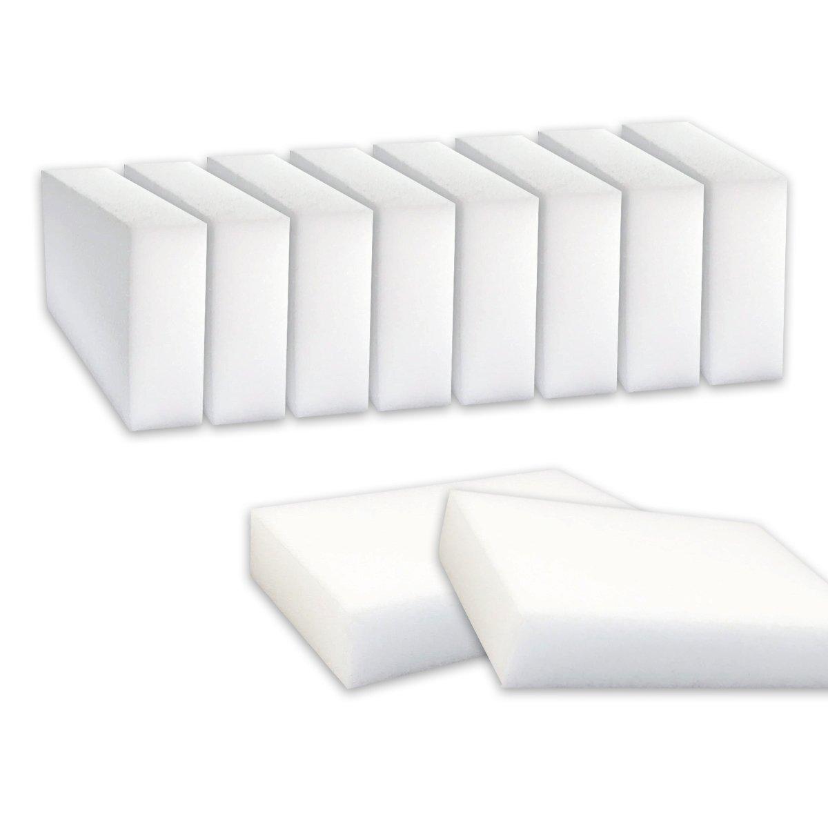 Esponja mágica Nidebeibao® para eliminar manchas y marcas, sin productos químicos, 10 unidades NIDEbeibao®