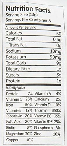 NurturMe Organic Infant Cereal, Quinoa Plus Apple, 3.7 Ounce FlavorName: Quinoa Plus Apple Model: