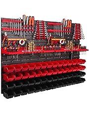 1152 x 780 mm gereedschapswand, werkplaatsplank, wandplank, opbergbakken, gereedschap, handgereedschap, verdeler