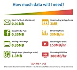 dataroam Prepaid 4G Europe Data SIM Card - Europe