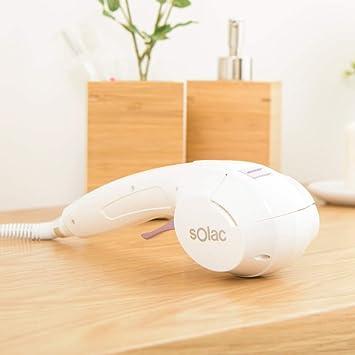 Solac MD7411 Precise Ionic Wave - Rizador de pelo automático, función iónica, recubrimiento cerámico, señales acústicas, rápido calentamiento, ...