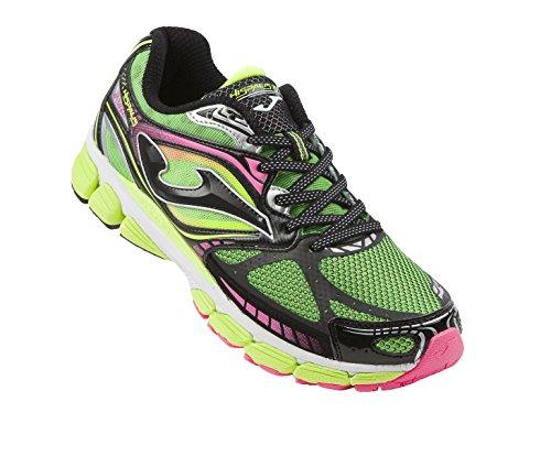 Joma  R.HISPALIS 615, Chaussures de course pour homme multicolore Green/Black