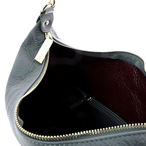Coccinelle Leonie Shoulder Bag Xg0130101 524 Asphalt merlot