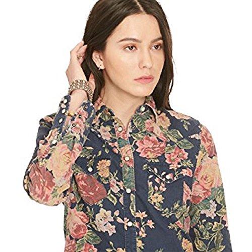 Ralph Lauren Denim&Supply Cord Bluse Regular Fit Gr. S