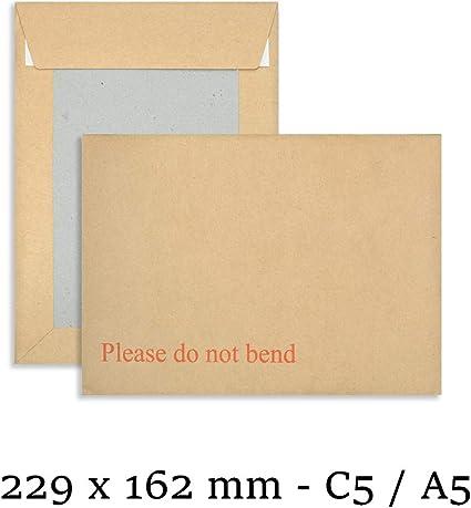 500 x HARD BOARD BACKED ENVELOPES PLEASE DO NOT BEND C3 C4 C5 C6 DL