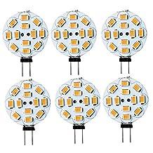 Best to Buy® (10-PACK) 3W G4 LED Bulbs, 40W Halogen Bulbs Equivalent, 12 V AC/DC, 280lm, 120° Beam Angle, Warm White, 2700K, G4 Bulb, Bi-Pin Light Bulbs, LED Light Bulbs