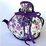 Now Designs - Adjustable Wrap - Tea Cosy - Pansies