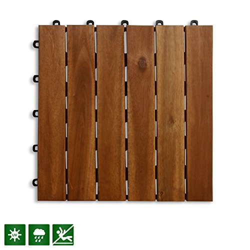 Cheap  Acacia Wood Tile Flooring, Patio Pavers & Composite Decking | Interlocking Patio..