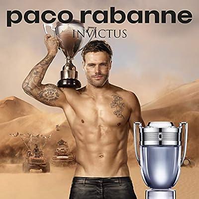 Paco Rabanne Invictus Eau de Toilette Vaporizador 100 ml: Amazon.es: Belleza