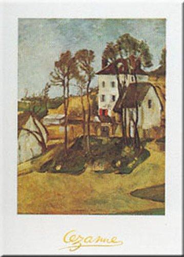 Buyartforless Dr. Gachet's House by Paul Cezanne 12x9.5 Art Print (Doctor Gachets House)