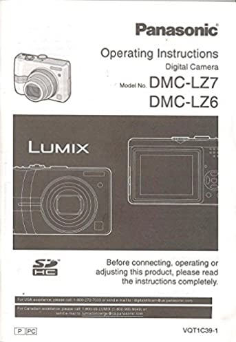 Panasonic Lumix Instructions Manual Browse Manual Guides
