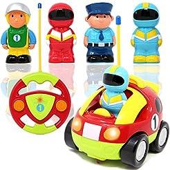 Joyin Toy Cartoon RC Race Car Radio Remo...
