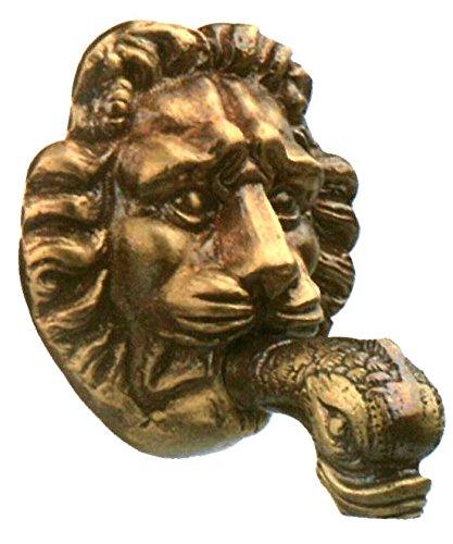 bec de fontaine rosace lion 0116E en laiton