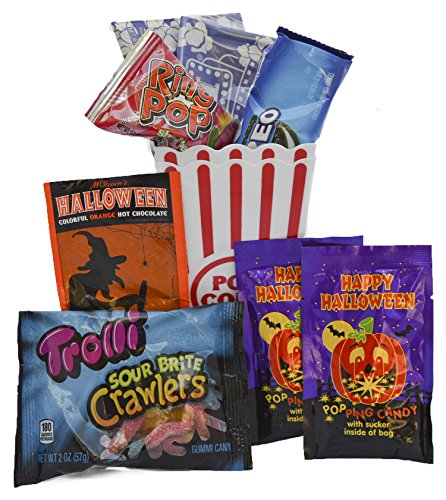 Halloween Movie Night Gift Bundle Care Package -
