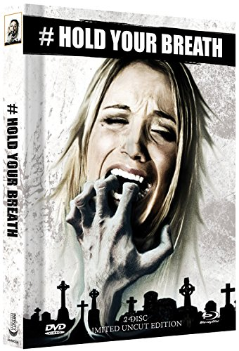 Hold your Breath - Limited Uncut Edition (DVD+Blu-ray Disc) - Mediabook - Cover A [Import allemand]
