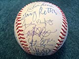 1991 Texas Rangers Team Signed Autographed Baseball – 30 Signatures w/Nolan Ryan w/LOA