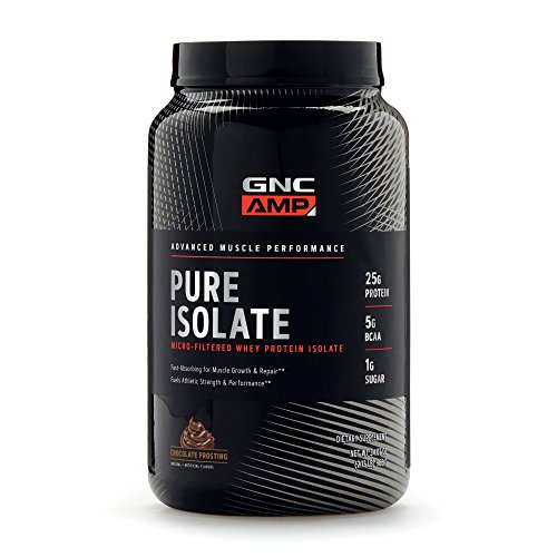 GNC AMP Pure Isolate - Chocolate Frosting