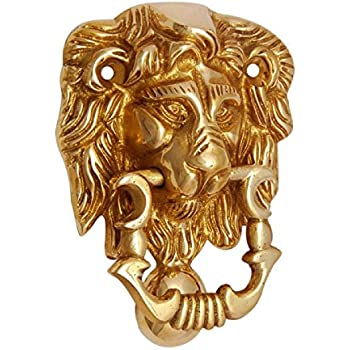 lion door knocker brass earrings wholesale amazon head hardware