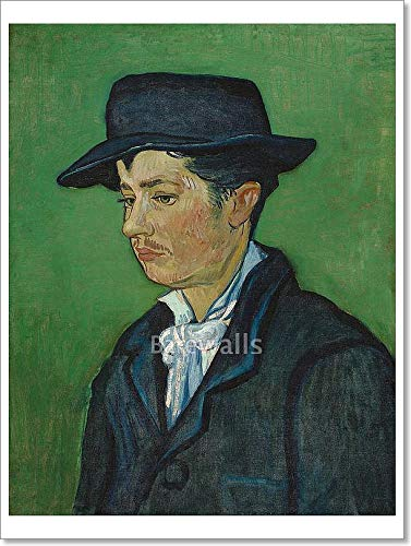 Barewalls Portrait of Armand Roulin Paper Print Wall Art (32in. x 24in.)