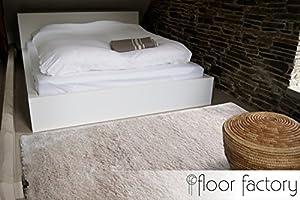 floor factory Alfombra Moderna Delight Beige 80x150cm - Alfombra Noble Suave y Sedosa: Amazon.es: Juguetes y juegos