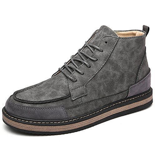 Keep Quality Materials UK7 Winter Shoes High Size Boots Gray Warm Leisure Martin High Help CN41 Colours 2 Feifei Color Men's EU40 qwIfBtzw