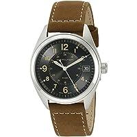 Hamilton Men's H68551833 Khaki Field Analog Quartz Brown Watch