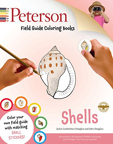Peterson Pc - Peterson Field Guide Coloring Books: Shells (Peterson Field Guide Color-In Books)
