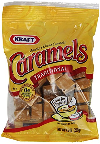 Kraft Traditional Caramels (9.5 oz Bags, Pack of 8)