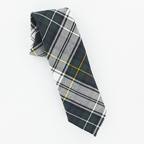 - Campbell Dress Modern Wool Plaid Check Tartan Tie
