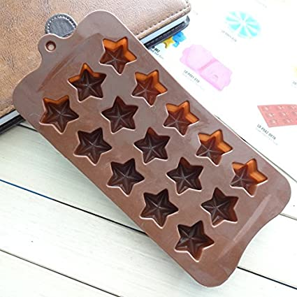 KingstonS silicona Star para horno Candy moldes para hacer bombones Semiesfera