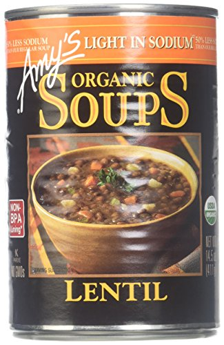 Amy's Organic Soup, Light in Sodium Lentil, 14.5 oz