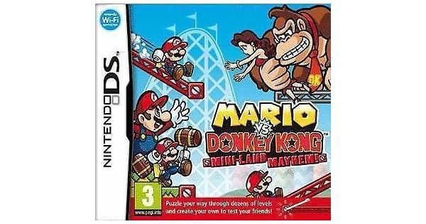 Amazon Com Mario Vs Donkey Kong Mini Land Mayhem Nintendo Ds