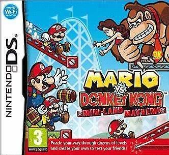 Donkey Kong Nds - mario vs. donkey kong mini-land mayhem (Nintendo DS)