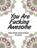 You are fucking awesome: Swear Words Coloring Books for Adults | bad word coloring book for adults only colorful swearing dreams For Stress Relief and ... Design