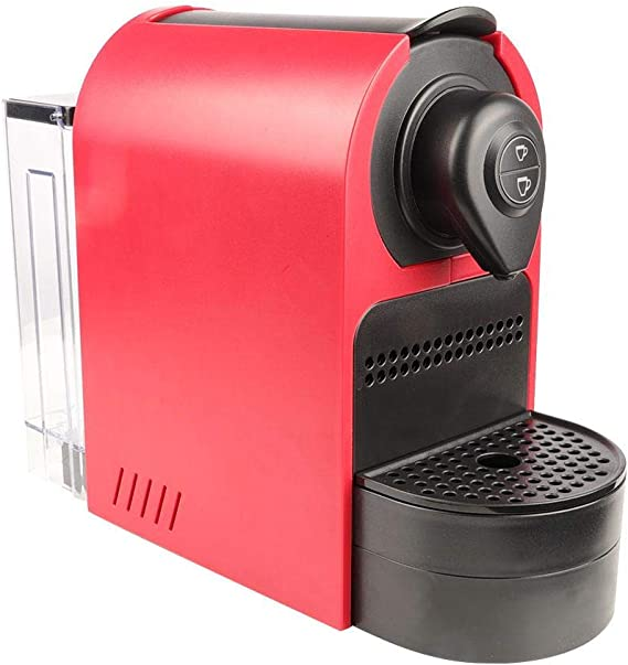Cafetera de cápsula roja portátil de acero inoxidable Nitrip ...