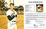 Ted Williams Autographed Posing with Bat 8x10 Photo (James Spence) - Autographed MLB Photos