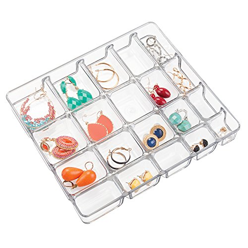 Divided Jewelry Organizer Tray mDesign
