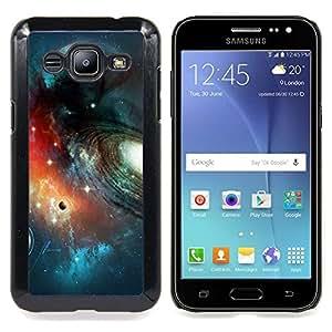 For Samsung Galaxy J2 - Galaxy Planets Row Art Stars Space Cosmos /Modelo de la piel protectora de la cubierta del caso/ - Super Marley Shop -