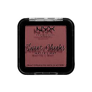 NYX PROFESSIONAL MAKEUP Sweet Cheeks Matte Blush, Fig