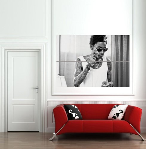Wiz Khalifa Giant Wall Art Print Poster Picture