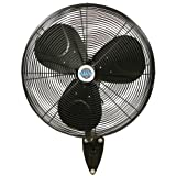 "24"" Durafan Indoor/Outdoor Large Oscillating Wall"