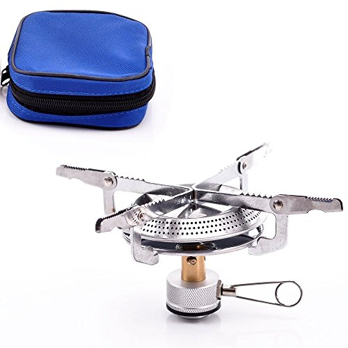 (CHENBO Lightweight Large Burner Classic Camping and Backpacking Stove. For iso-Butane/Propane)