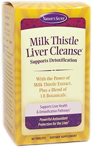 Nature's Secret Milk Thistle Liver Cleanse Tabs, 60 ct