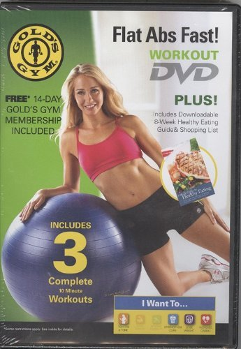 Gold's Gym Flat Abs Fast DVD Workout (Best Exercise For Flat Abs Fast)