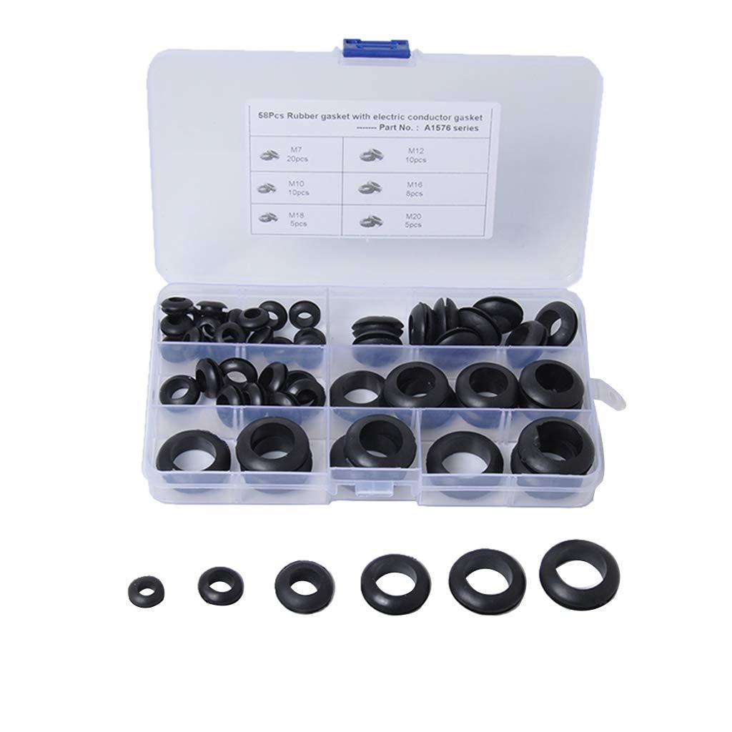 B Blesiya Car O-Ring Kit Rubber Washer Seals Assortment Set